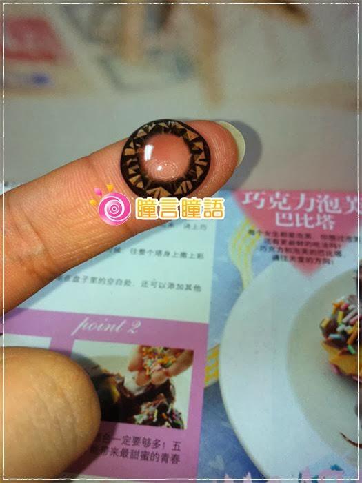 韓國GEO隱形眼鏡-芭比愛七彩鑽石咖5