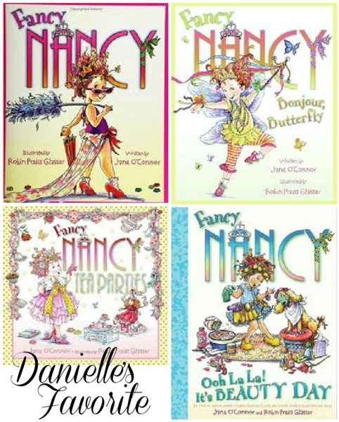 Danielle Loves Fancy Nancy Books
