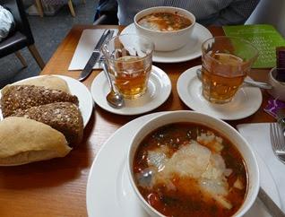 Italiaanse soep bij de Pompadour