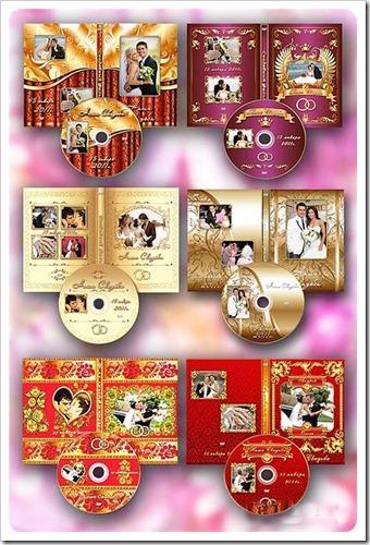PSD para DVD de casamento