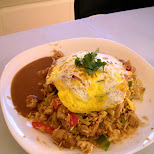 home made Nasi Goreng in Toronto, Ontario, Canada
