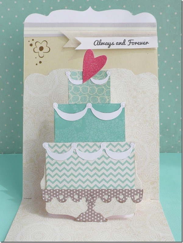 cafe creativo - big shot sizzix - card wedding pop up (2)