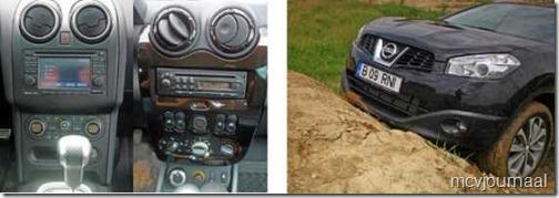 Dacia Duster vs Nissan Quashqai 06