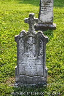 Risch, Mathias Jr., Tombstone - St. Paul Catholic Cemetery, New Alsace, Indiana