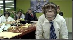 Trained Monkey power.   ( ok,   technically an ape.)