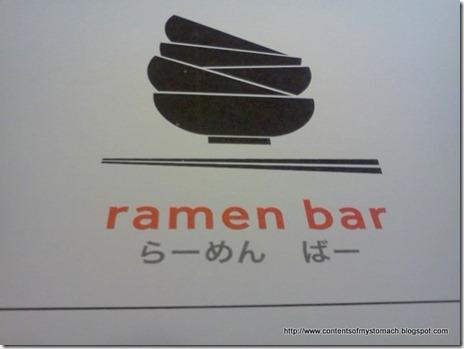 Coming back to Ramen Bar (7.30.11)