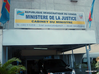 Cabinet du Ministre de la Justice  Kinshasa, 19 janvier 2011.