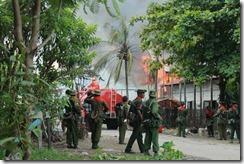 Burmese troops Arakan State