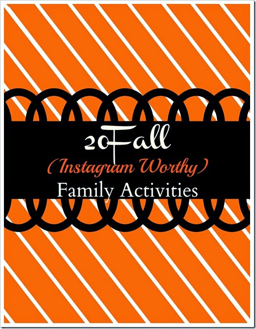 20 fall family activities