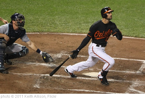 'Nick Markakis' photo (c) 2011, Keith Allison - license: http://creativecommons.org/licenses/by-sa/2.0/