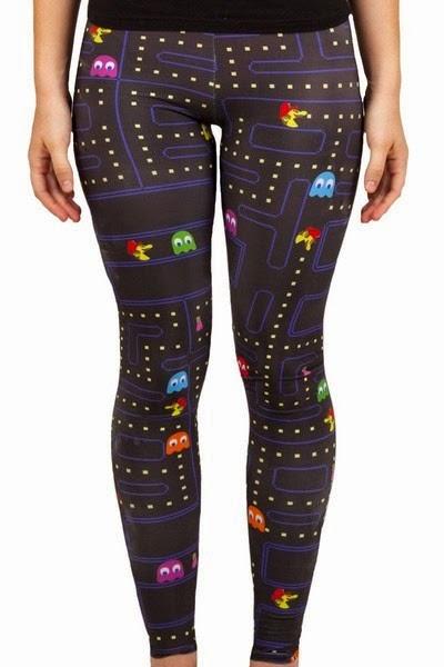 Pac-Man Leggings from Living Dead