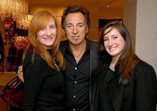 bruce springsteen wife patti. hairstyles Bruce Springsteen