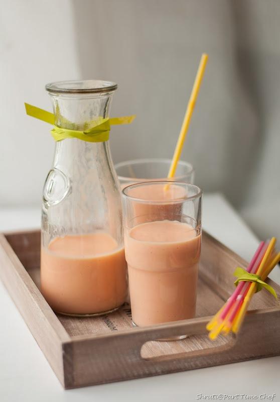Carrot milkshake-2-3