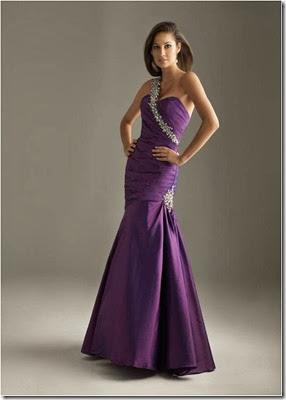 modelo lilás mordado