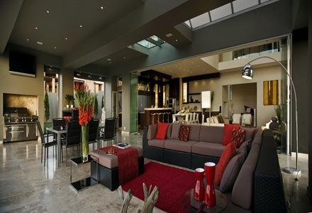 casa-contemporanea-decoracion-color-rojo
