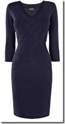 Phase Eight Navy Knit Dress