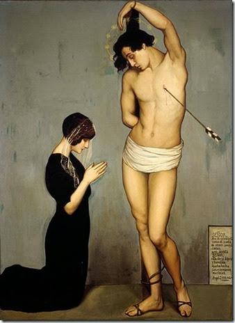 angel sarraga - saint sebastian