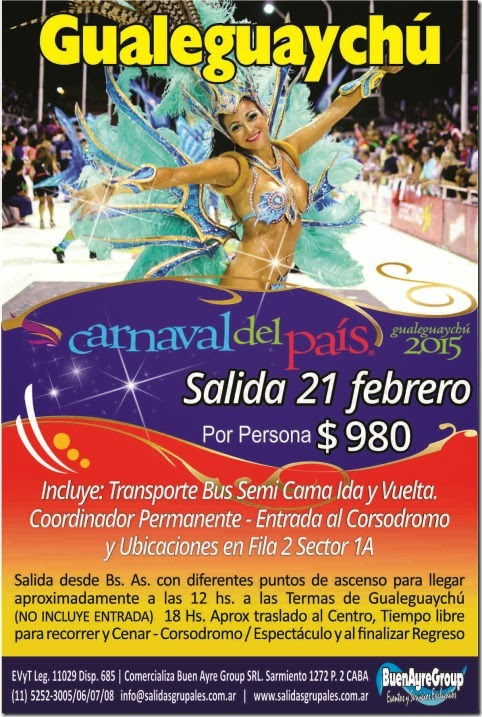 Carnavales de Gualeguaychu 2015