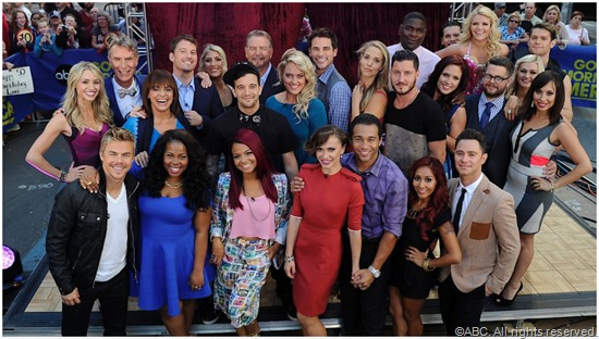 The season 17 cast of DWTS.