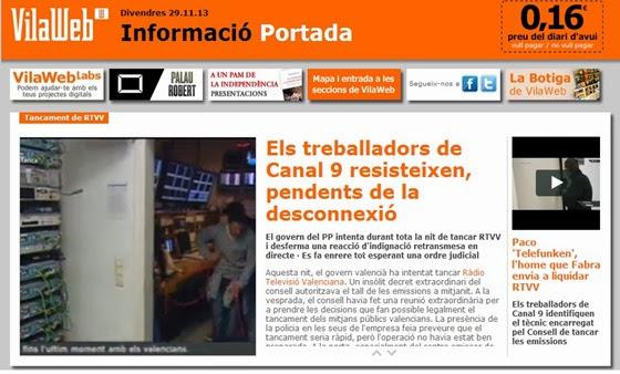 Se tanca una television publica valenciana