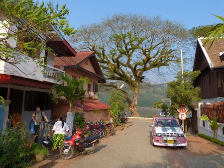Strada mea din Luang Prabang