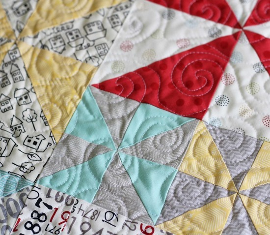 Swirly Quilting