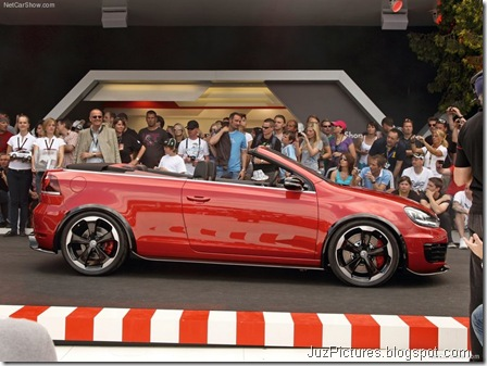 VW Golf GTI Cabriolet Concept4