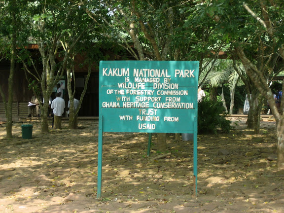 Kakum National Park (Ghana), 25 janvier 2006. Photo : J. F. Christensen