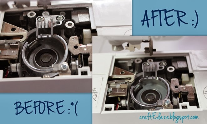 Blog - clean sewing machine