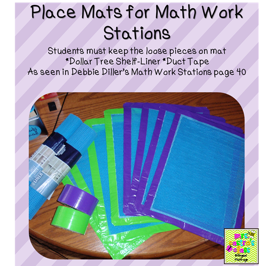 Monday Made It - Math Mats