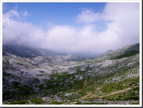 Poncebos-Canal de Trea-Jultayu 1940m-Lagos de Covadonga (Picos de Europa) 5170