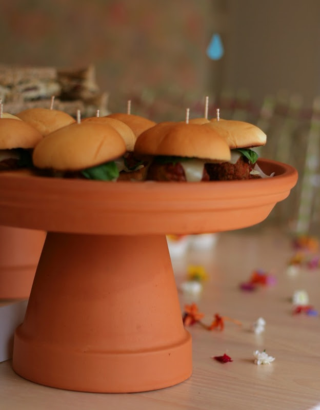 Flower Pot Cake Stand