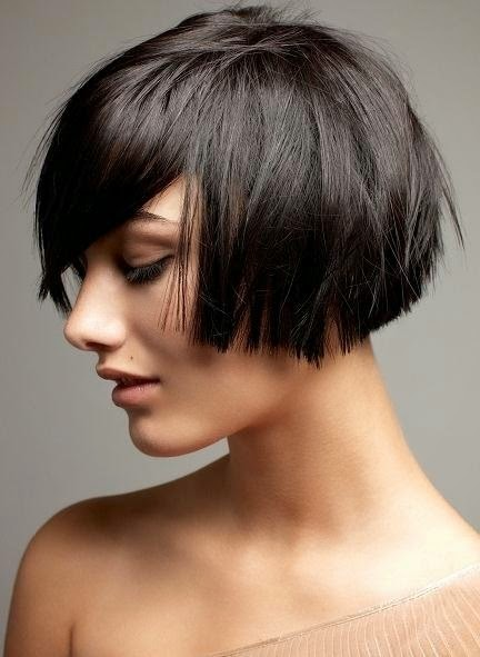 ... inverted bob layered bob or stacked bob this article is about short