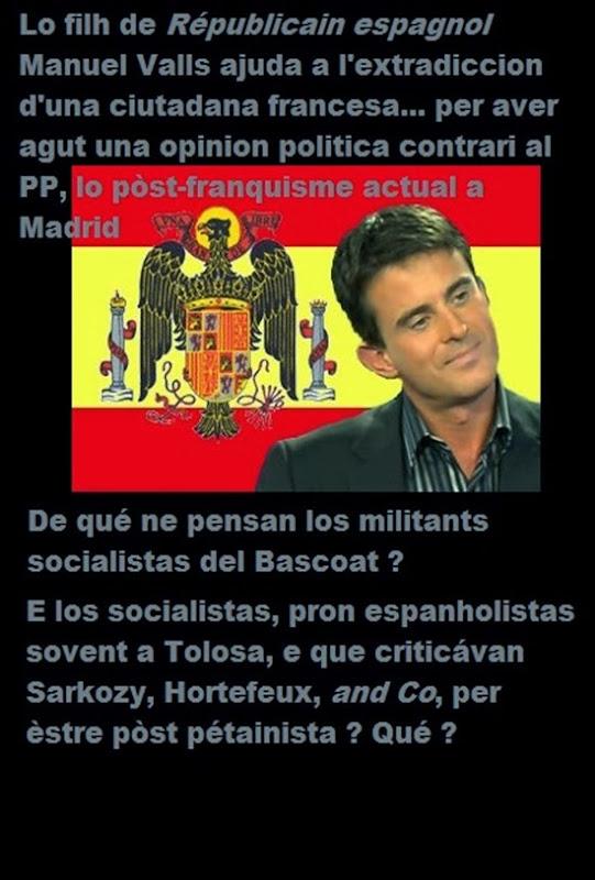 Tara dels socialistas Manuel Valls