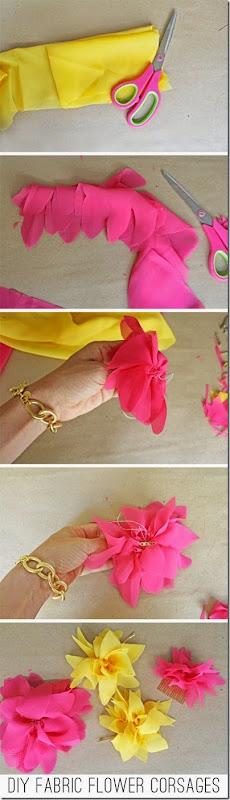 fabricflowercorsage