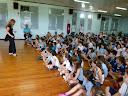 Estudantes assistem peça teatral Cidadania com Arte
