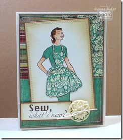 paper pieced lady