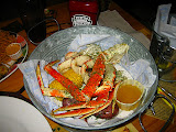 Snow, Dungeness and King Crab at Joe's Crab Shack in Newport Beach
