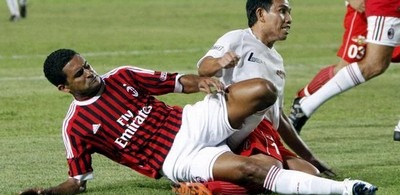 Hasil AC Milan Glorie vs Indonesia All-Stars