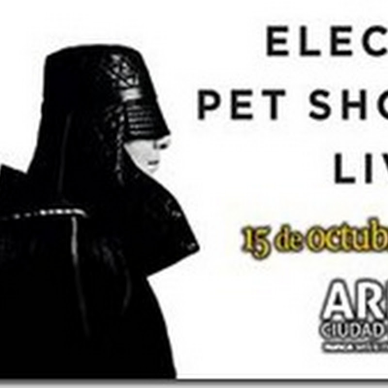 Pet Shop Boys Mexico 2013 en concierto