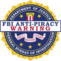 FBIas Anti Piracy Seal