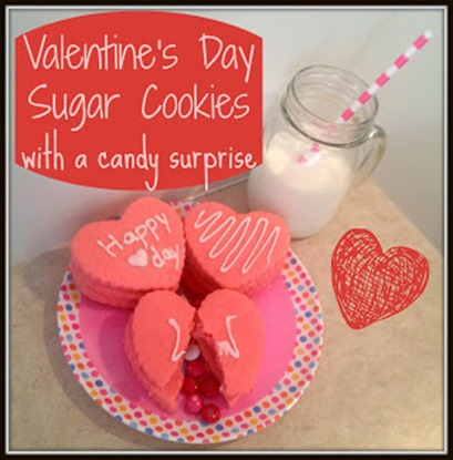 valentines day cookies with a candy surprise by Sarah Lynns Sweets