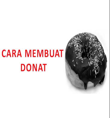 Cara membuat donat