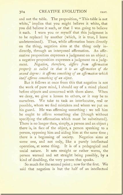 Bergson. Creative Evolution. 1911 creativeevolutio00berguof.test.t_Page_318