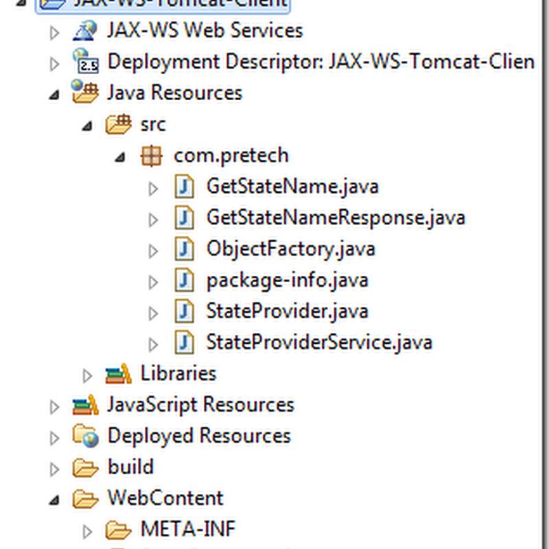JAX-WS + Tomcat Example