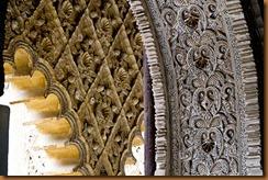 seville,alcazar arch detail