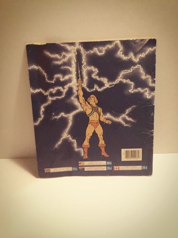Masters Of The Universe Sticker Book