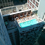 new rooftop pool downtown Toronto in Toronto, Ontario, Canada