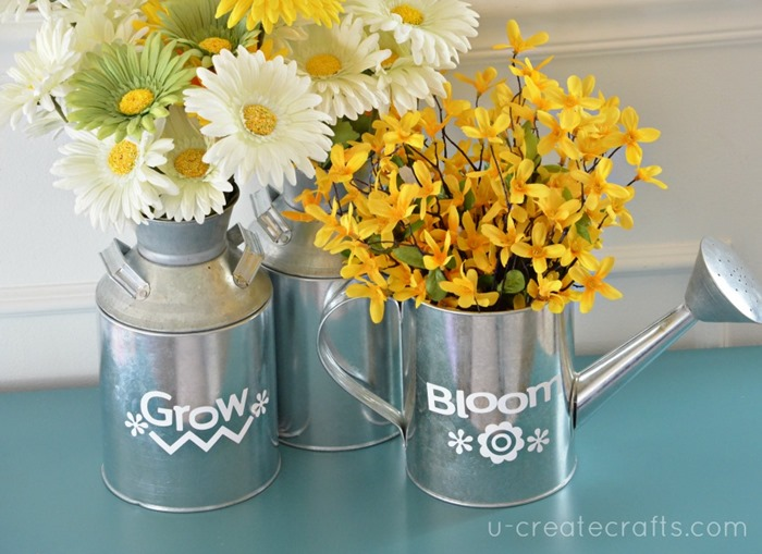 Easy Spring Flower Arrangements