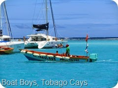 017 The Boat Boys, Tobago Cays